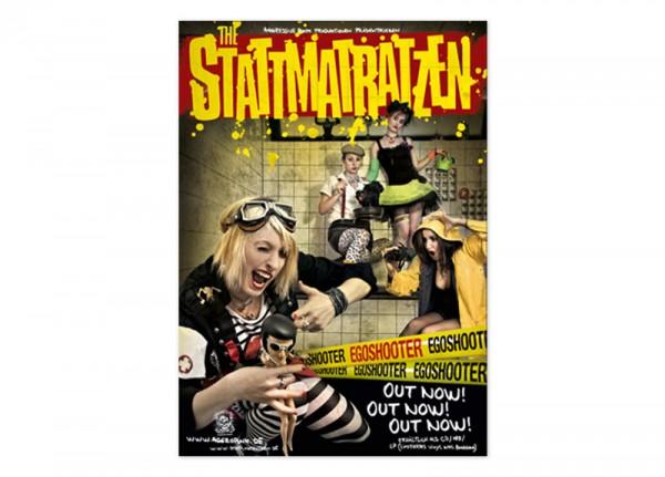 STATTMATRATZEN, THE - Egoshooter Poster