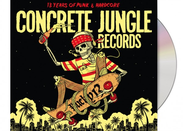 V.A. - Concrete Jungle Records - Lucky 13 LTD DIGIPAK CD