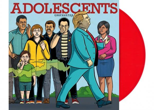"ADOLESCENTS - Cropduster LTD 12"" LP - RED"