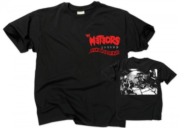 METEORS, THE - Dreamin Up A Nightmare T-Shirt
