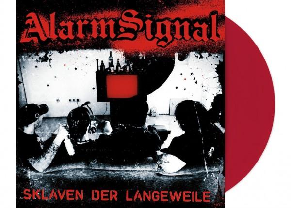 """ALARMSIGNAL - Sklaven der Langeweile 12"""" LP LTD - RED"""