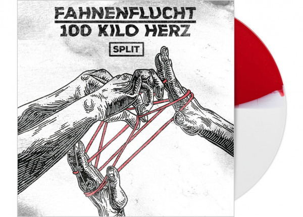 "FAHNENFLUCHT / 100 KILO HERZ - Split LTD 12"" EP - HALF/HALF"