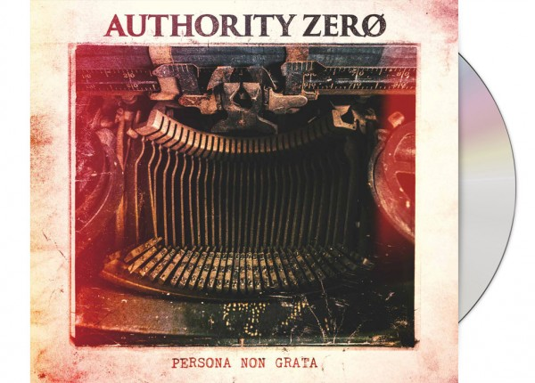 AUTHORITY ZERO - Persona Non Grata LTD DIGIPAK CD