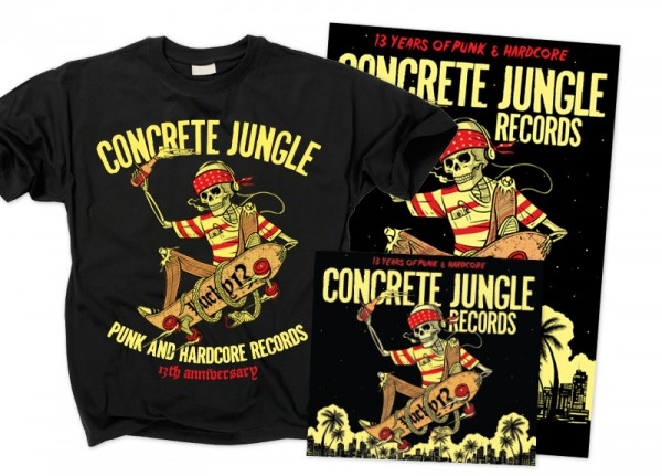 V.A. - Concrete Jungle Records Lucky 13 Bundle