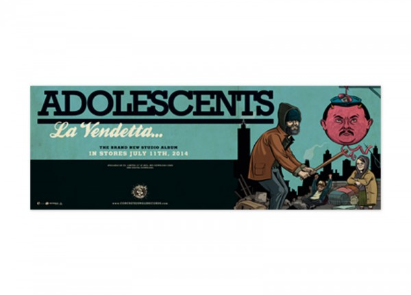ADOLESCENTS - La Vendetta Poster