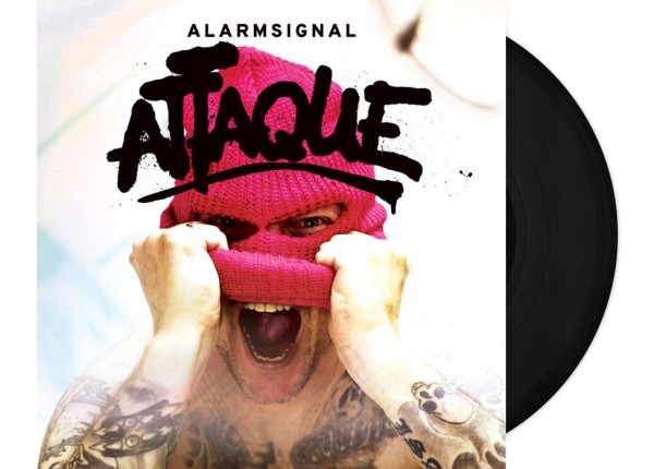 "ALARMSIGNAL - Attaque 12"" LP LTD - BLACK"