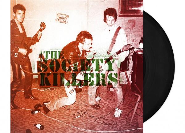 """SOCIETY KILLERS, THE - Society Killers 7"""" EP LTD - BLACK"""