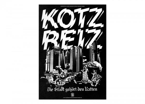 KOTZREIZ - Die Stadt gehört den Ratten Poster