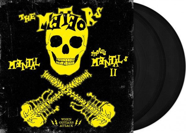 "METEORS, THE - Mental Instrumentals II 12"" DO-LP LTD BLACK"