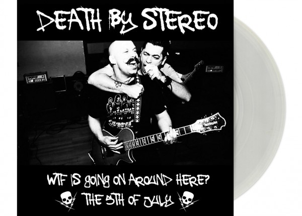 "DEATH BY STEREO - WTF Is Going Around Here? 7"" Single LTD"