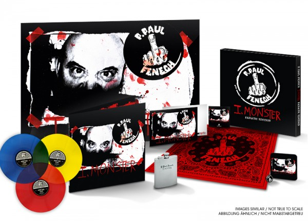 P. PAUL FENECH - I, Monster (Fanatic Edition) LTD BOX SET