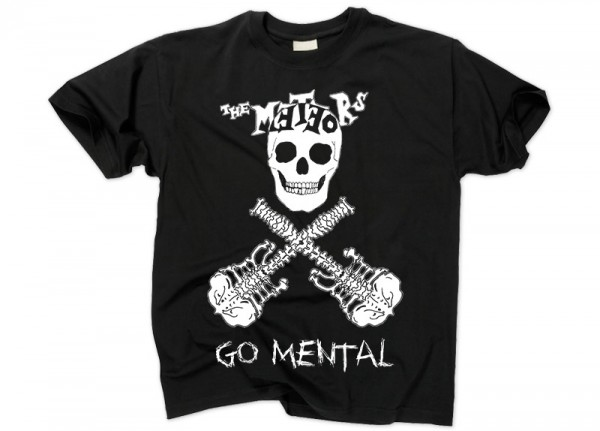 METEORS, THE - Go Mental T-Shirt