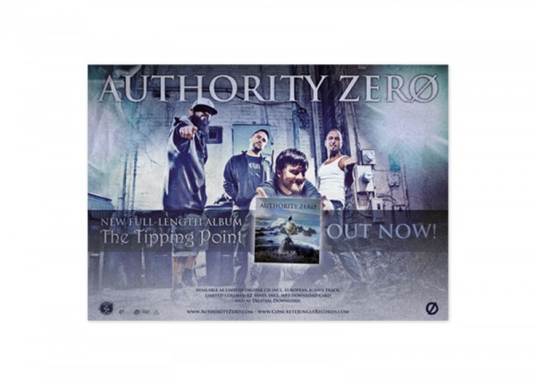 AUTHORITY ZERO - The Tipping Point Poster