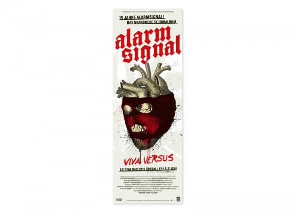 ALARMSIGNAL - Viva Versus Poster