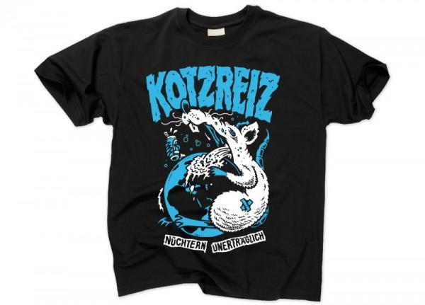 KOTZREIZ - Ratte Nüchtern unerträglich T-Shirt