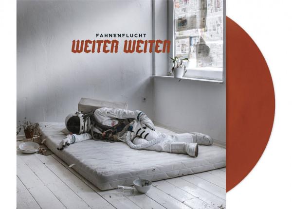 """FAHNENFLUCHT - Weiter Weiter LTD 12"""" LP - RED-BROWN"""
