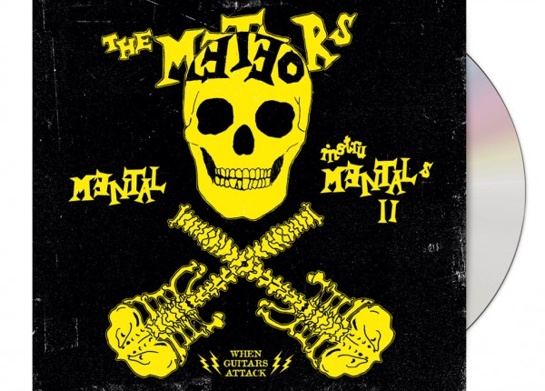 METEORS, THE - Mental Instrumentals II LTD DIGIPAK CD