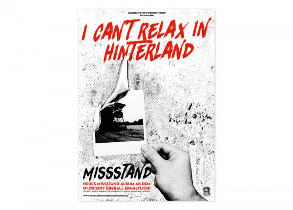 MISSSTAND - I Can't Relax In Hinterland Poster
