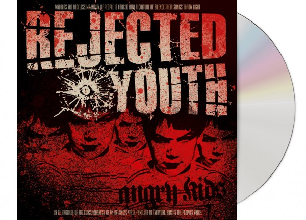 REJECTED YOUTH - Angry Kids Re-Issue + Bonustracks CD