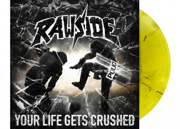 "RAWSIDE - Your Life Gets Crushed 12"" LP LTD - YELLOW"