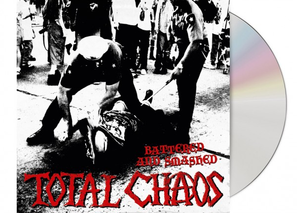 TOTAL CHAOS - Battered And Smashed CD