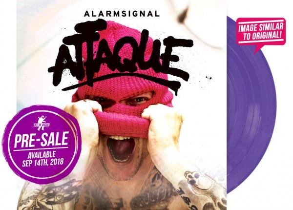 """ALARMSIGNAL - Attaque 12"""" LP LTD - PURPLE"""