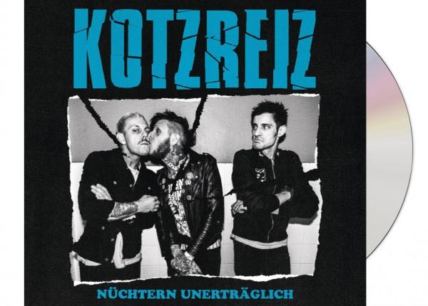 KOTZREIZ - Nüchtern unerträglich LTD DIGIPAK CD