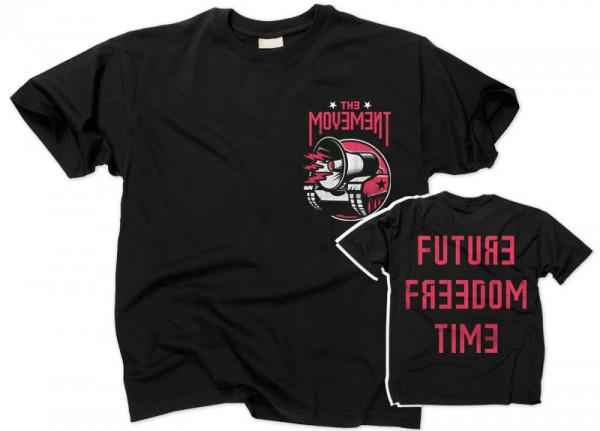 MOVEMENT, THE - Future Freedom Time T-Shirt