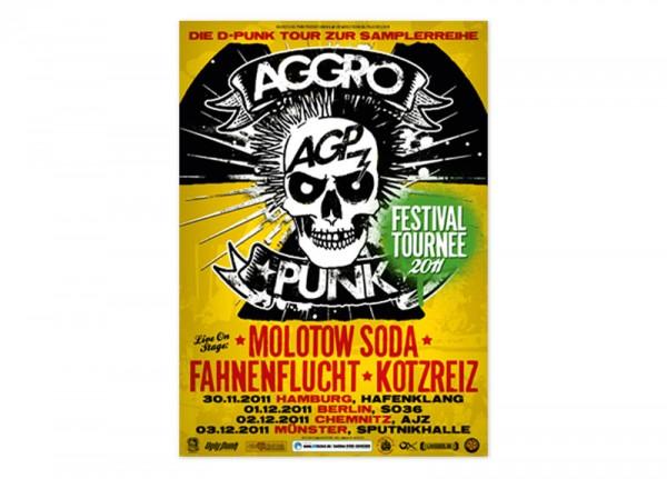 AGGROPUNK - Festival Tournee 2011 Poster
