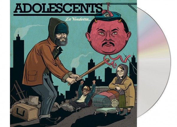 ADOLESCENTS - La Vendetta CD