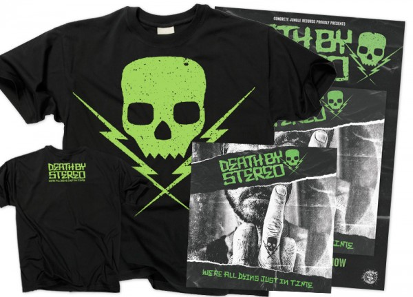 DEATH BY STEREO - We're All Dying Just In Time Bundle