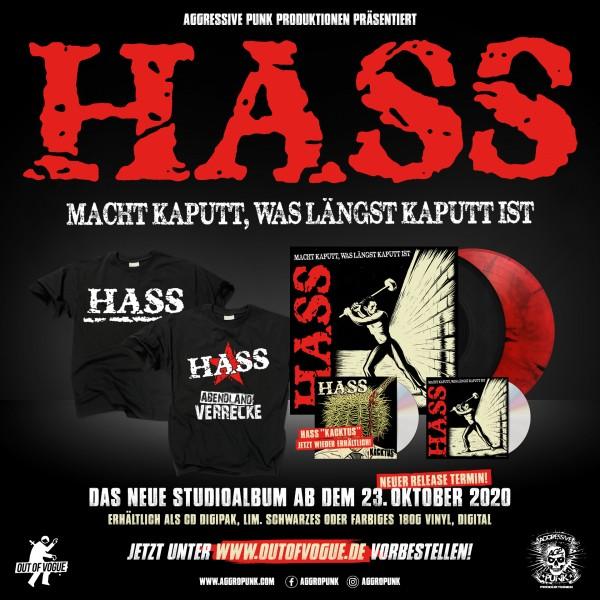 Hass-Album-Verschoben