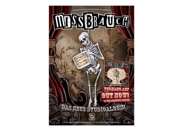 MISSBRAUCH - Vorhang auf Poster