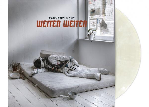 """FAHNENFLUCHT - Weiter Weiter LTD 12"""" LP - WHITE MARBLED"""