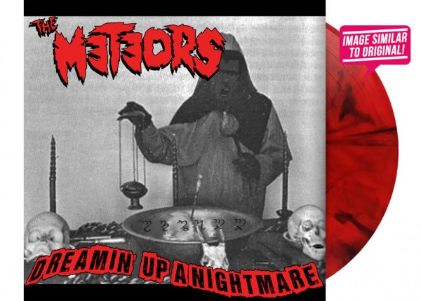 "METEORS, THE - Dreamin' Up A Nightmare 7"" Single LTD - RED"