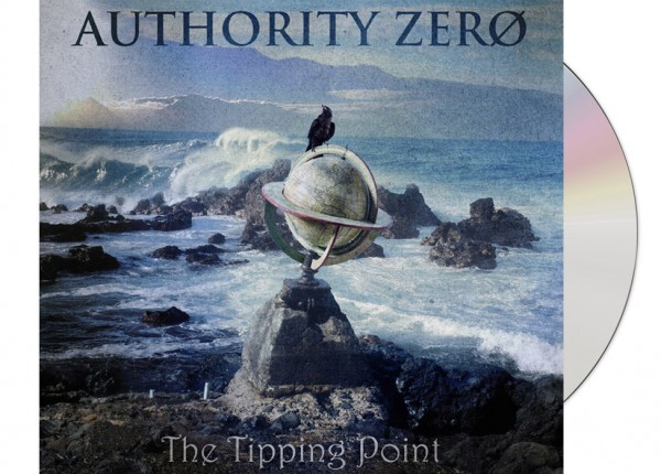 AUTHORITY ZERO - The Tipping Point (Bonus Edition) LTD DIGIPAK CD