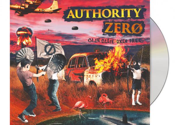 AUTHORITY ZERO - Ollie Ollie Oxen Free LTD DIGIPAK CD