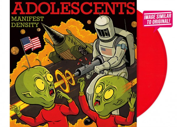 "ADOLESCENTS - Manifest Density 12"" LTD - RED"