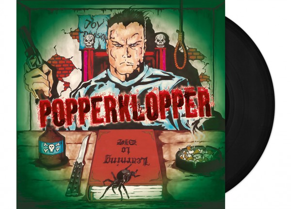 "POPPERKLOPPER - Learning To Die 12"" LP LTD - BLACK"