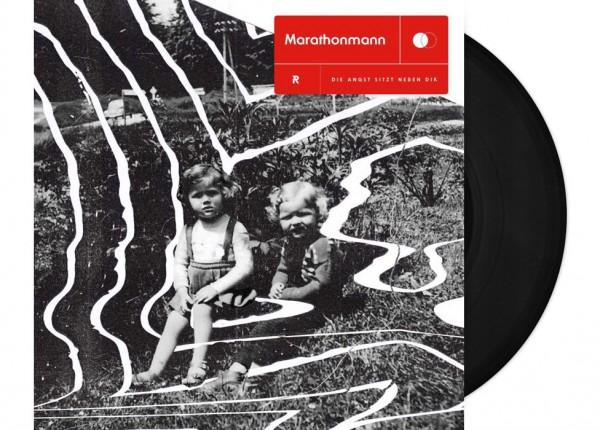 """MARATHOMANN - Die Angst sitzt neben dir 12"""" LP LTD - BLACK"""
