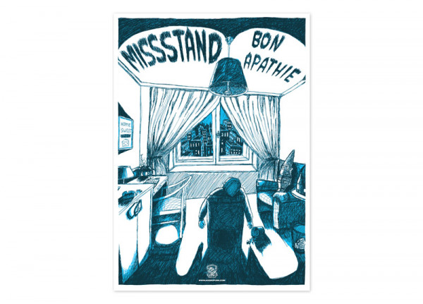 MISSSTAND - Bon Apathie Poster