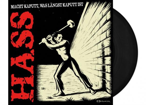 "HASS - Macht kaputt, was längst kaputt ist LTD 12"" LP - BLACK"