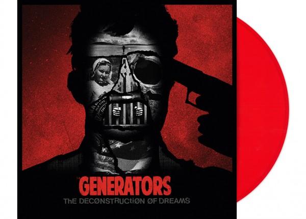 "GENERATORS, THE - The Deconstruction Of Dreams 12"" EP LTD - RED"