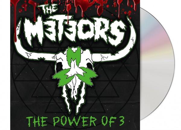 METEORS, THE - The Power Of 3 LTD DIGIPAK CD