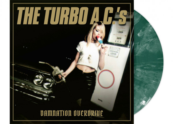 """TURBO A.C.'s, THE - Damnation Overdrive 12"""" LP LTD - GREEN"""