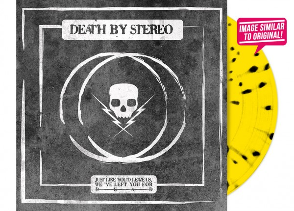 "DEATH BY STEREO - ...We've Left You For Dead 12"" EP LTD - YELLOW"