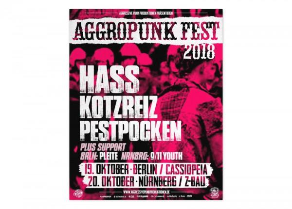 AGGROPUNK - Fest 2018 Poster