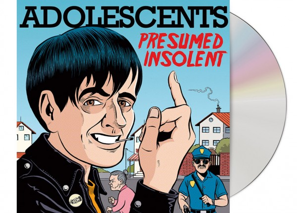 ADOLESCENTS - Presumed Insolent CD