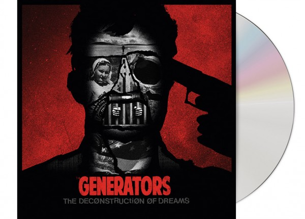GENERATORS, THE - The Deconstruction Of Dreams EP LTD DIGIPAK CD