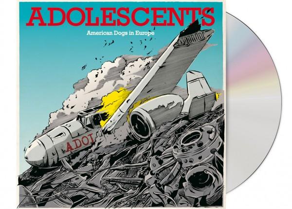 ADOLESCENTS - American Dogs In Europe EP LTD DIGIPAK CD